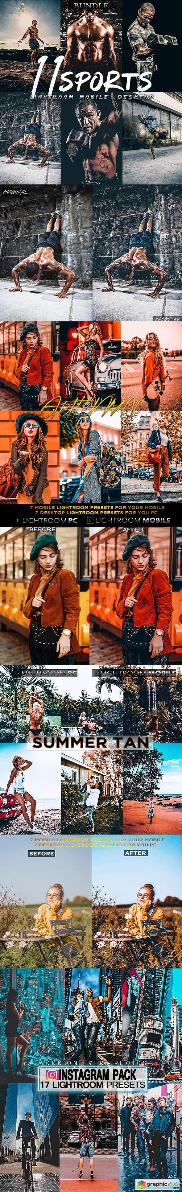 Bundle Lightroom Desktop & Mobile Presets