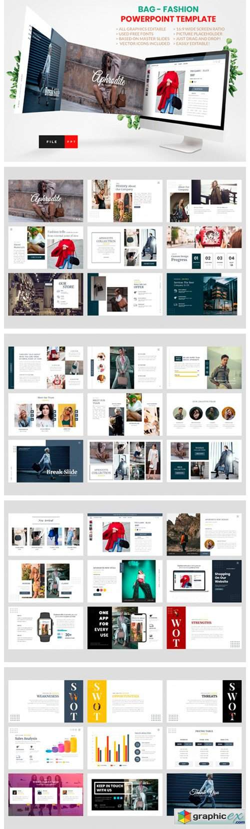 Bag Fashion PowerPoint Template