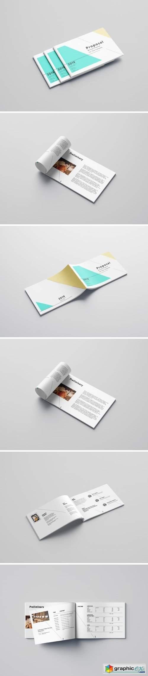 Minimalist Proposal Template Design