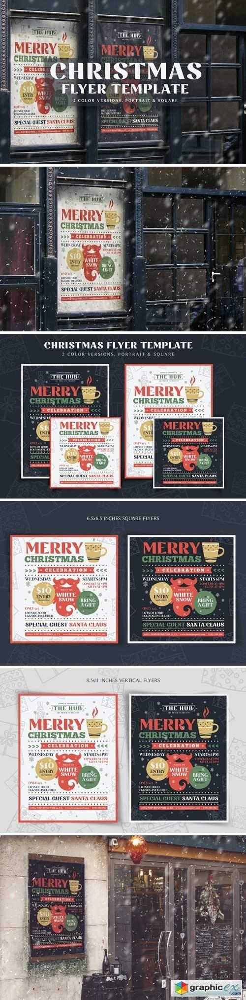 Christmas Flyer Template Vol.1