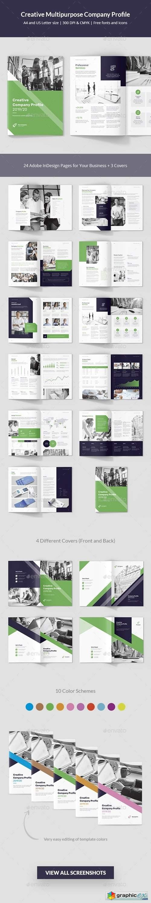 Creative Multipurpose Company Profile