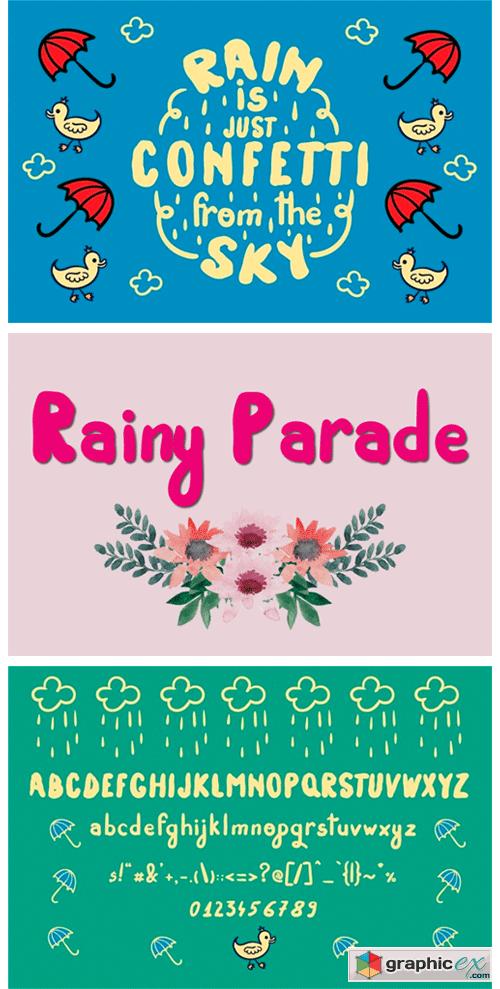 Rainy Parade Font