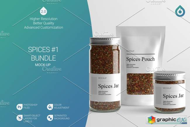 Spices Mock-Up B1 [V2.0]