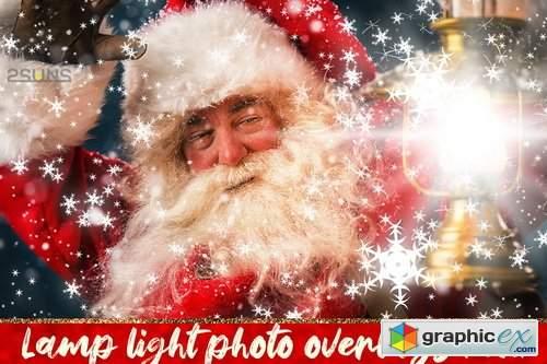 30 Christmas Photo Overlays