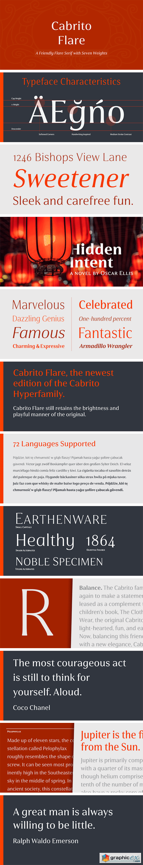 Cabrito Flare Font Family