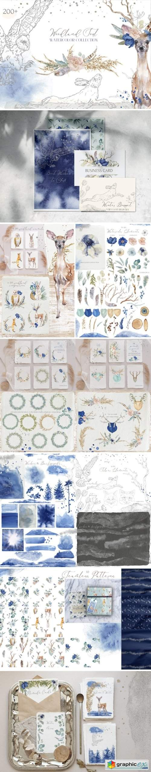 Woodland Soul Watercolor Collection