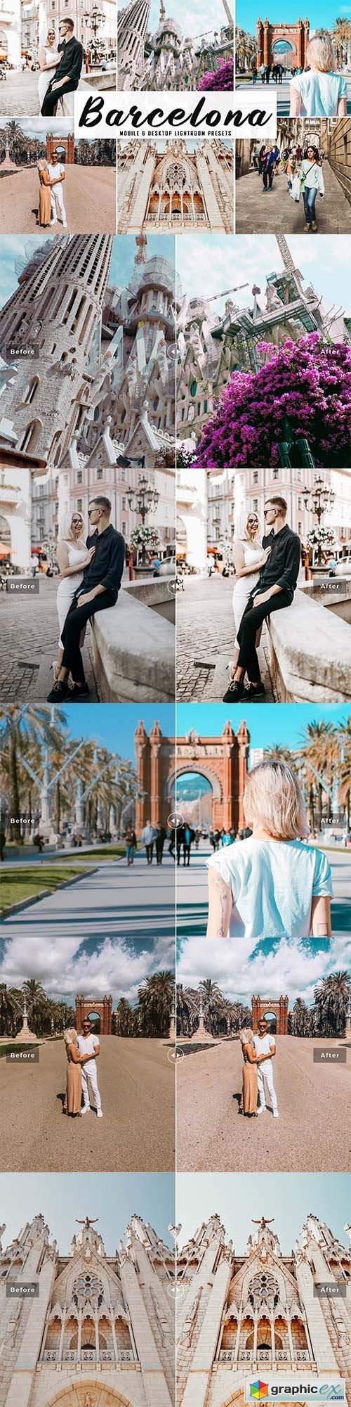 Barcelona Mobile & Desktop Lightroom Presets