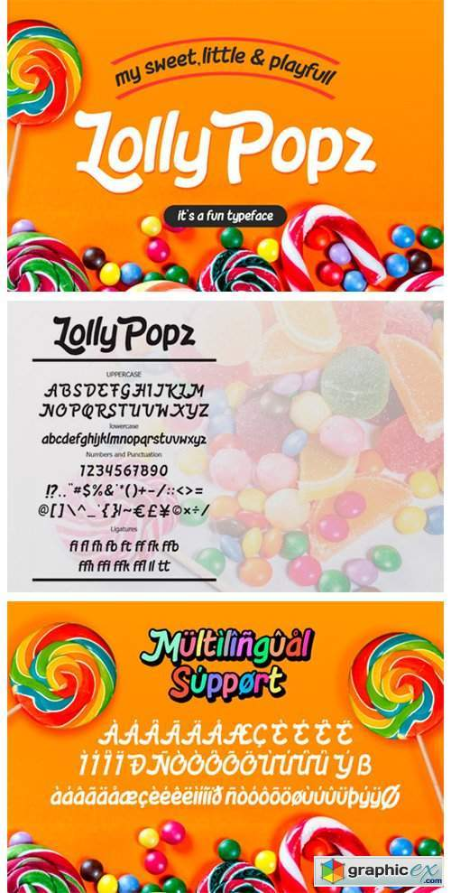Lolly Pop Font