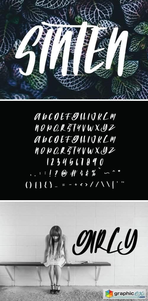 Sinten Font