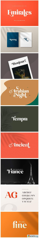 Emirates Font