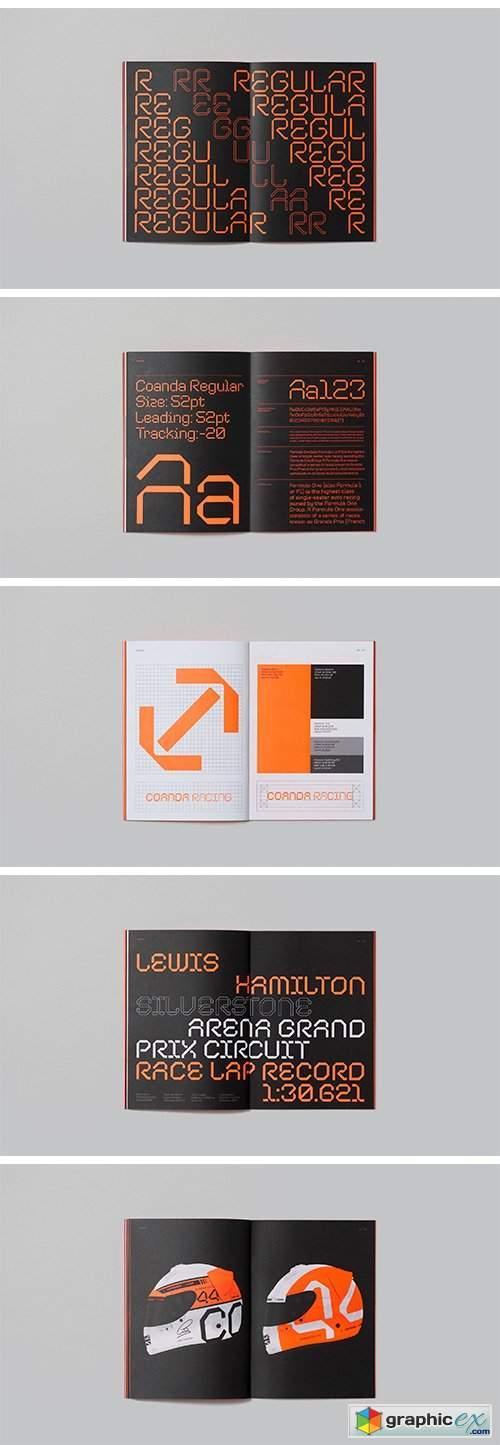 Coanda Font Family