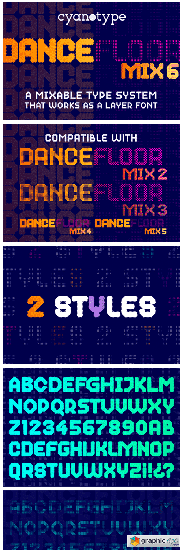 Dance Floor Mix 6 Font