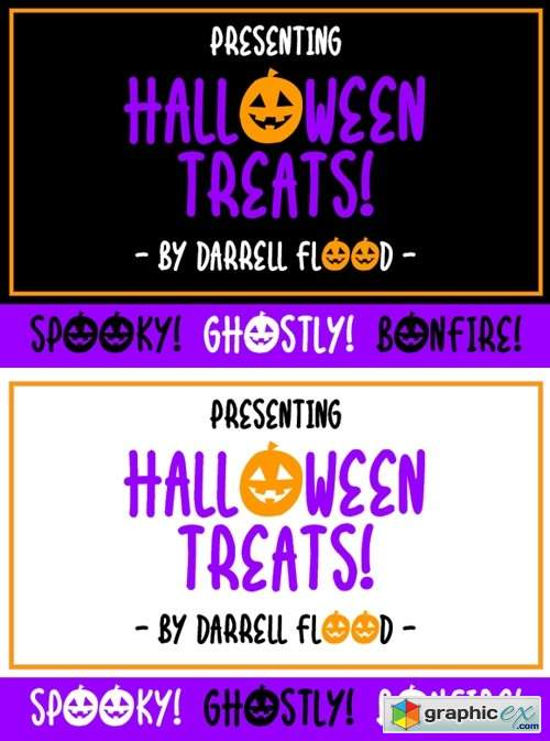 Halloween Treats Font