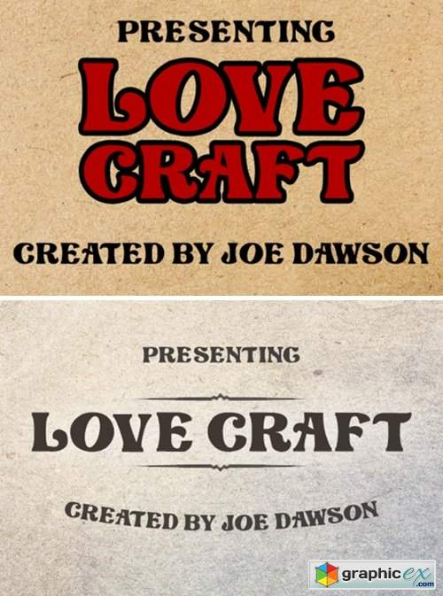 Love Craft Font