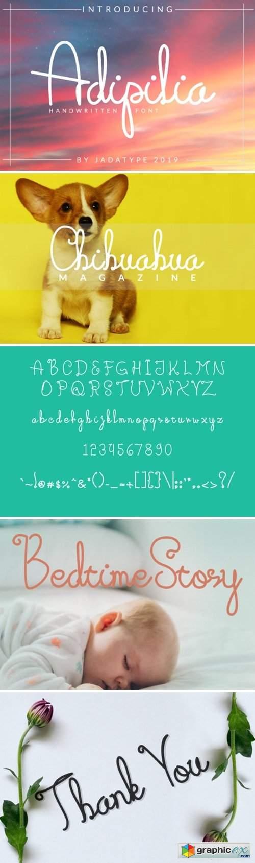 Adipilia Font