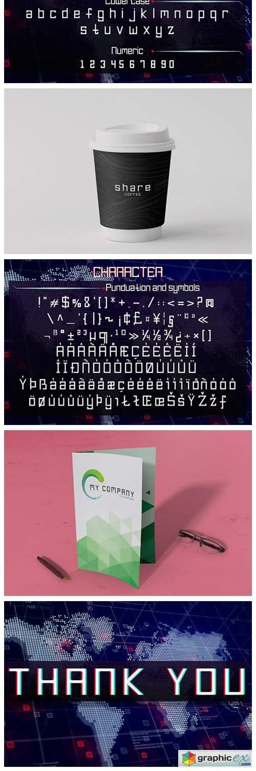 Pro-Legacy Font