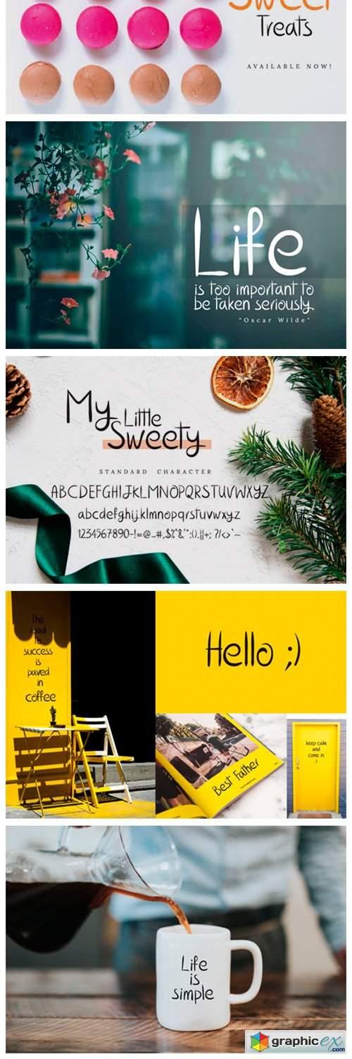 My Little Sweety Font