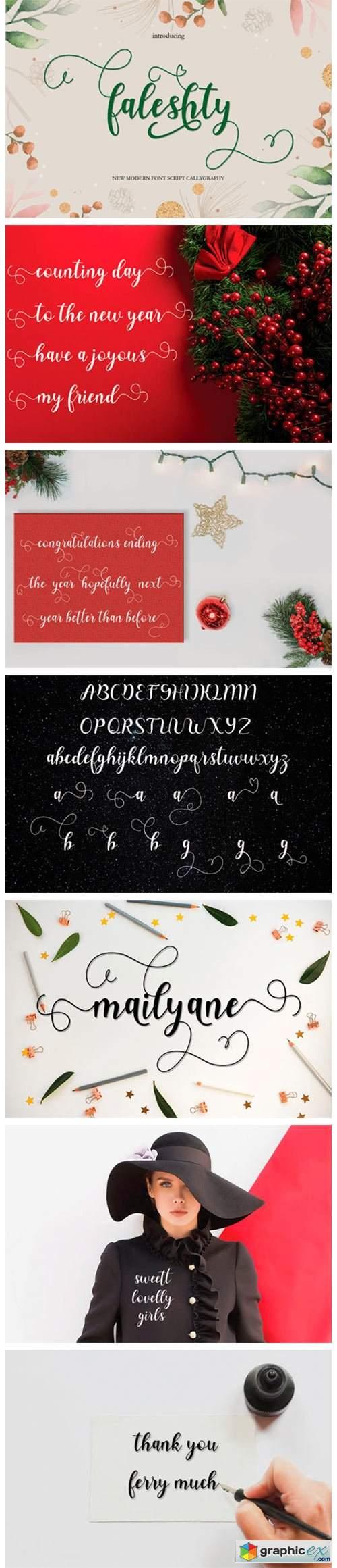 Faleshty Font