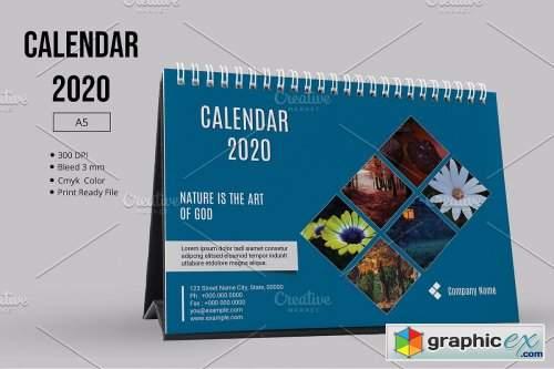 Desk Calendar 2020 V23