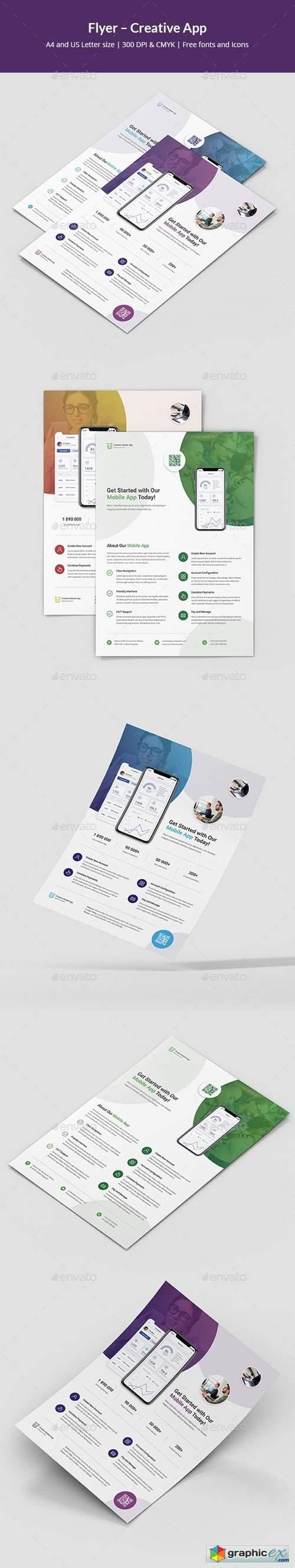 Flyer – Creative App 25207734