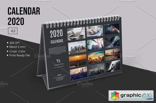 Desk Calendar 2020 V24