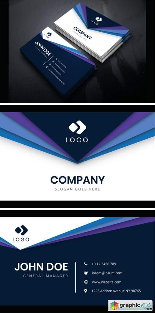 Corporate Business Card 2196181