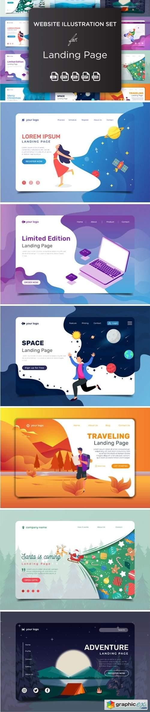 Website Illustration Set