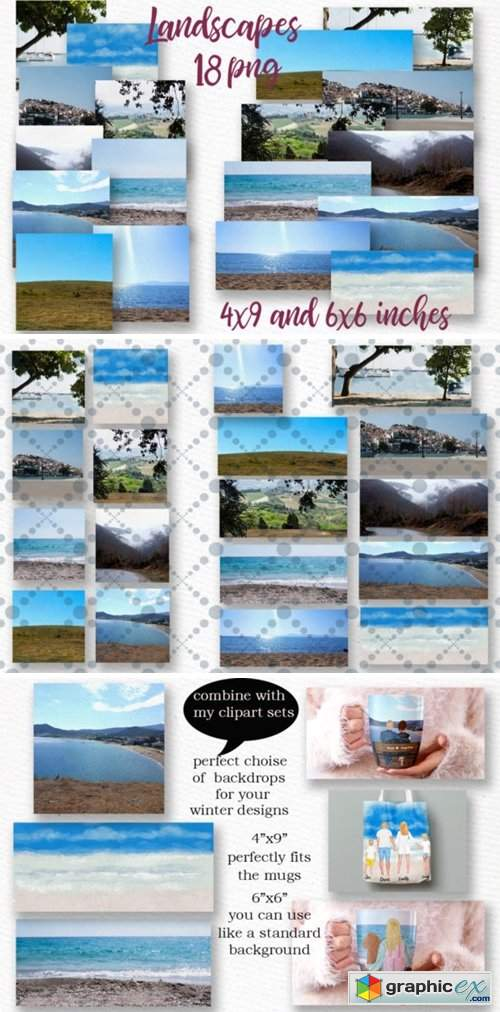 Beach Background Holiday Landscapes