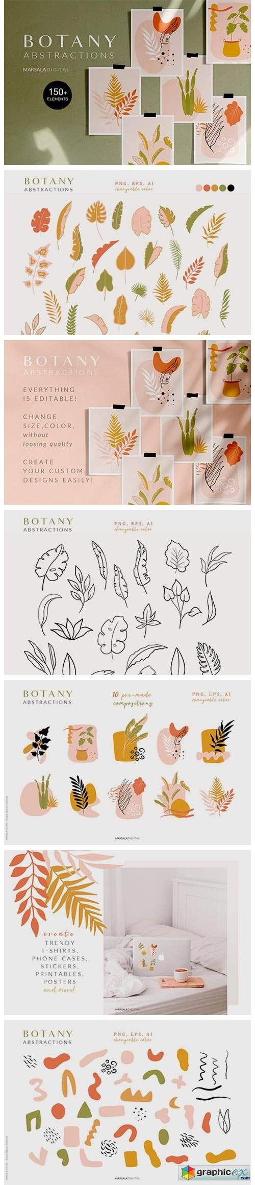 Botanical Abstract Collection 4158513