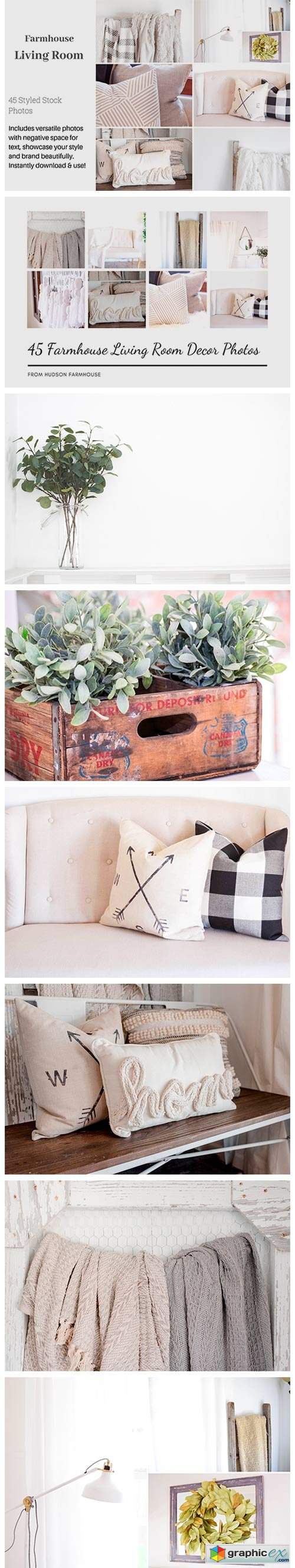 Farmhouse Living Room Photo Bundle