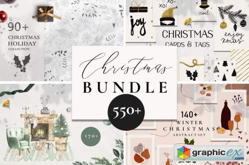 Christmas holiday winter BUNDLE