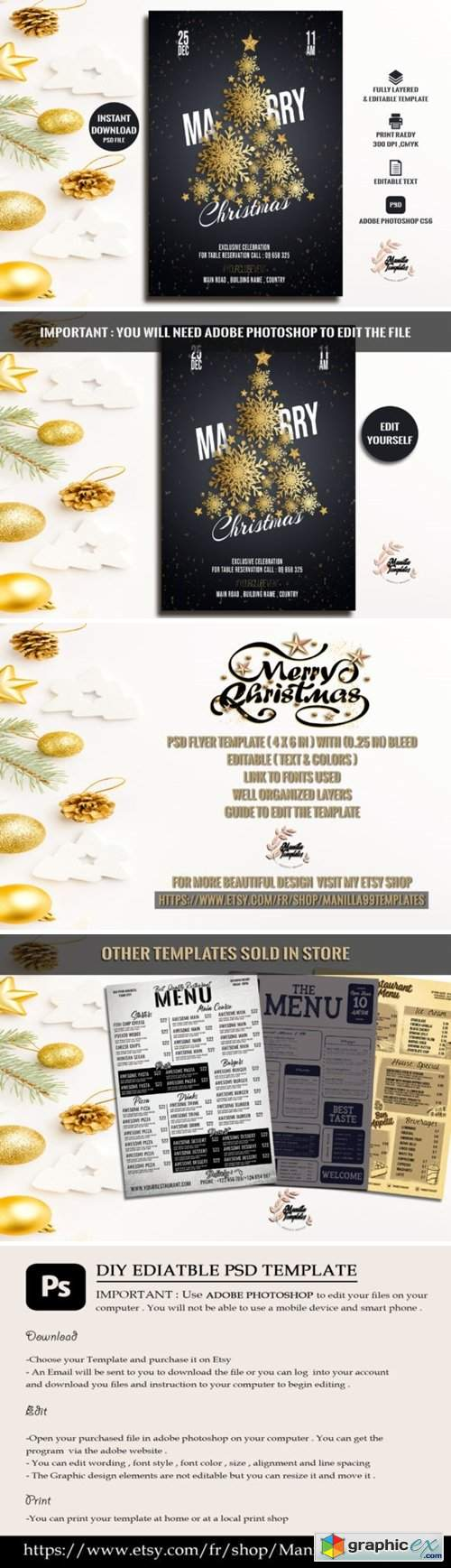 Marry Christmas Invitation