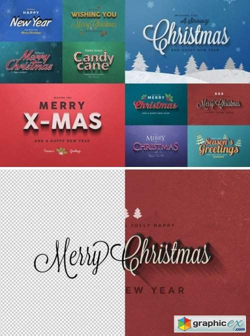 Christmas Text Effects Vol.2 2118867