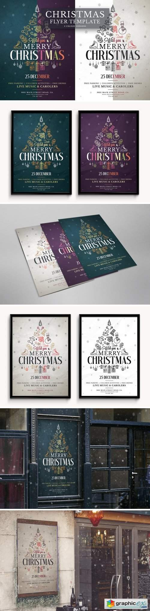 Christmas Flyer Template Vol.5