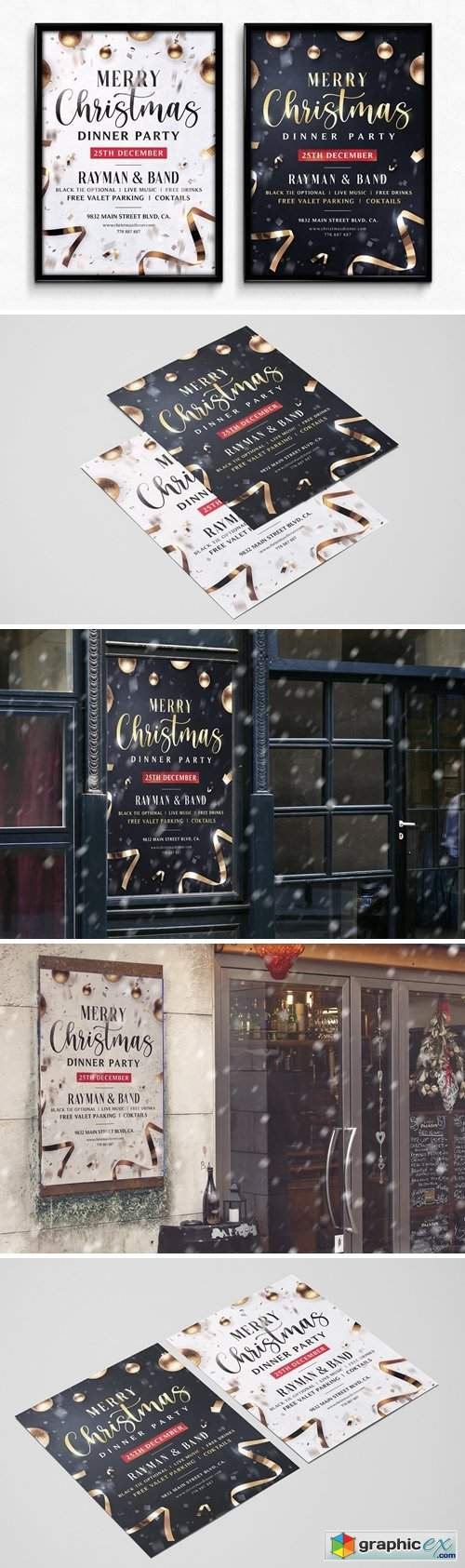 Christmas Flyer Template Vol.4