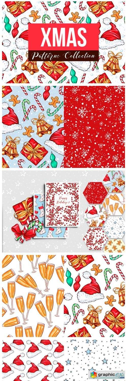 Big Xmas Patterns Collection