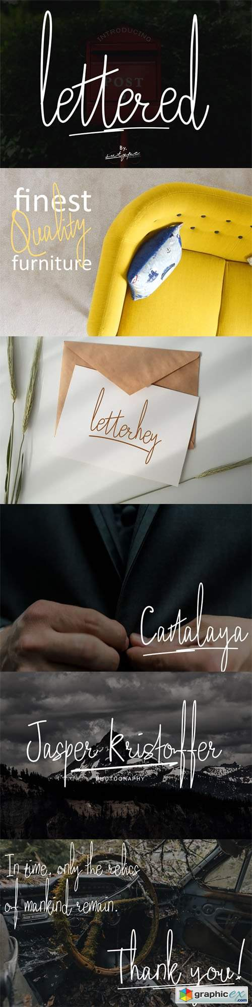 Lettered - Signature Font