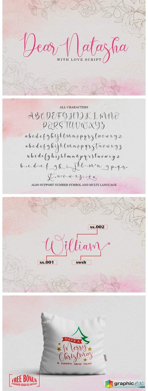 Dear Natasha Font