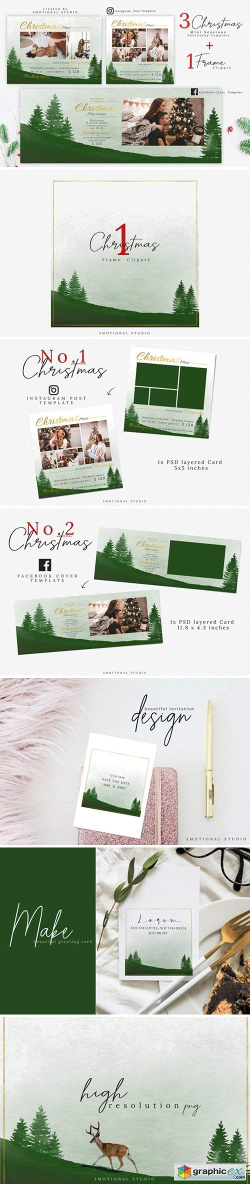 Christmas Mini Session Template 2250710