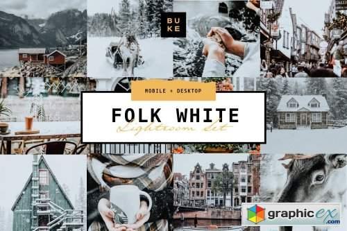 Folk White - Lightroom Presets Pair