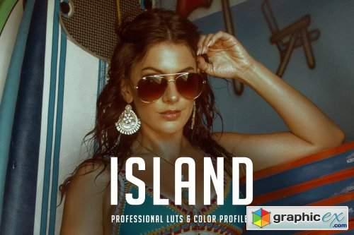 Island Premium LUT 14 Pack