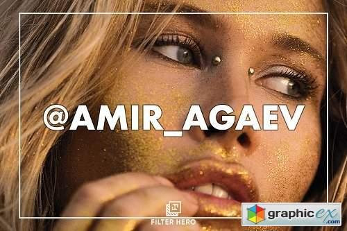 Amir Agaev Lightroom Mobile Presets