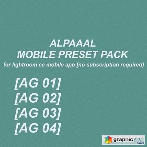 ALPAAAL Mobile Presets Pack