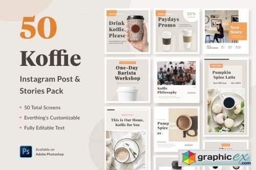 Instagram Template - Koffie