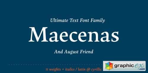 Maecenas Complete Family