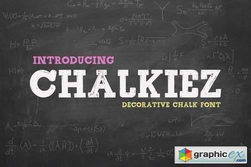 Chalkiez - Font