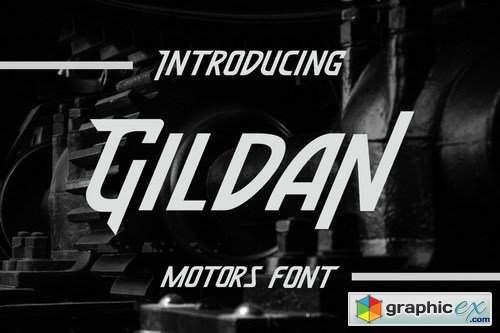 Gildan - Motors Font