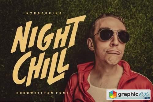 Night Chill - Handwritten Font