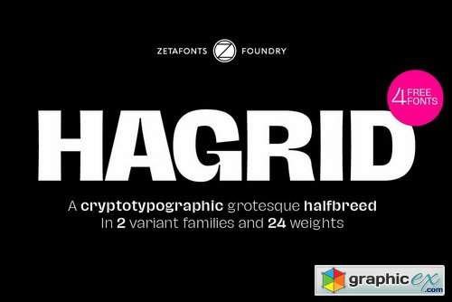 Hagrid Font Family
