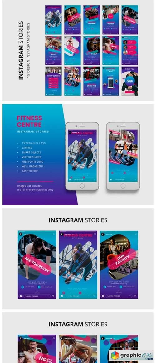 Fitness Instagram Stories